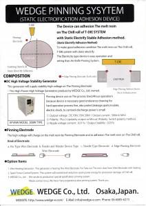 Wedge pinning system